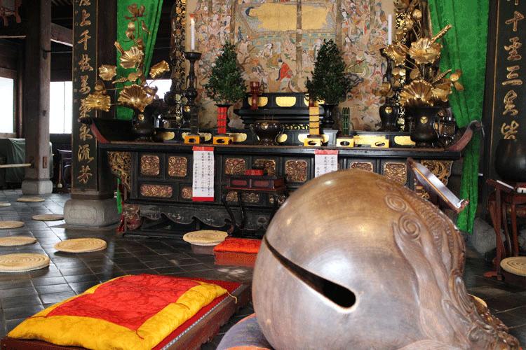 萬福寺 木魚