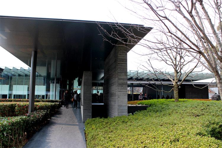 平等院鳳凰堂 ミュージアム出口