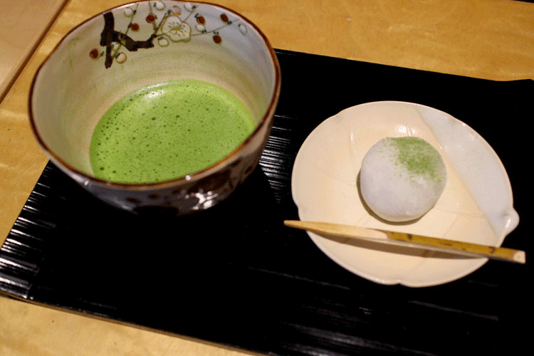 宇治旅行 抹茶とお菓子