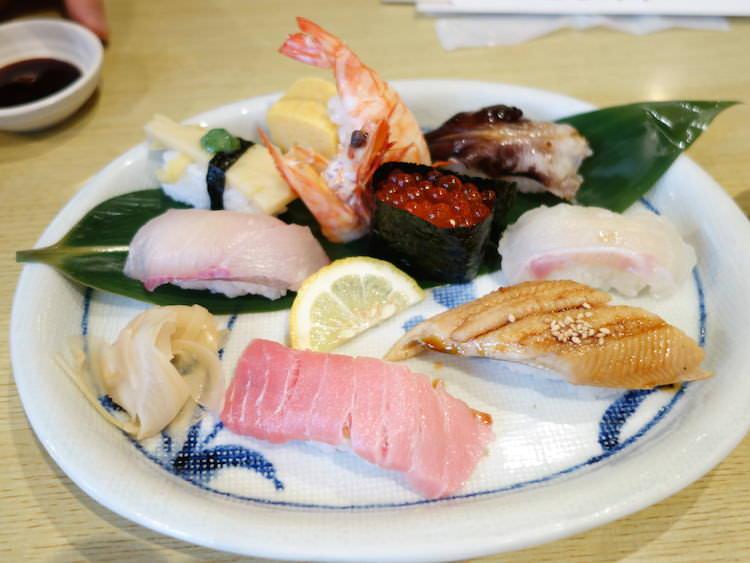 すし丸道後店 お寿司