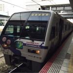 岡山から松山行きの電車でアンパンマン列車に乗った感想と風景写真