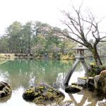 緑とお茶屋さんが魅力!美しい観光名所の金沢・兼六園に行ってきた感想