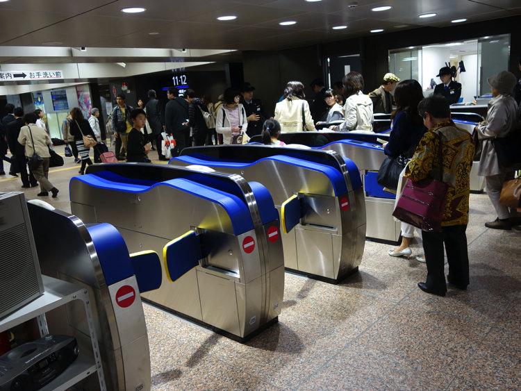 金沢駅 北陸新幹線の改札