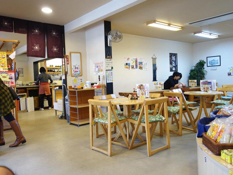松山城ロープウェー降り場 お茶屋