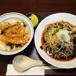 松山の大街道にある蕎麦屋「sova sova」のメニューと天丼セットを食べた感想