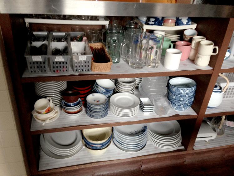 泉ゲストハウス お皿