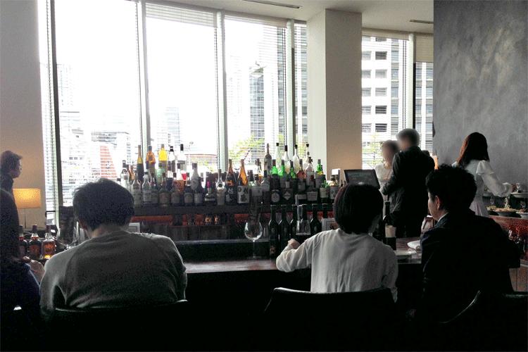 サルバトーレクオモ 2階席
