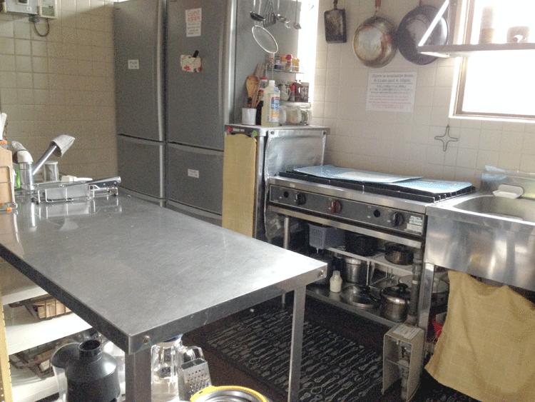 泉ゲストハウス キッチン