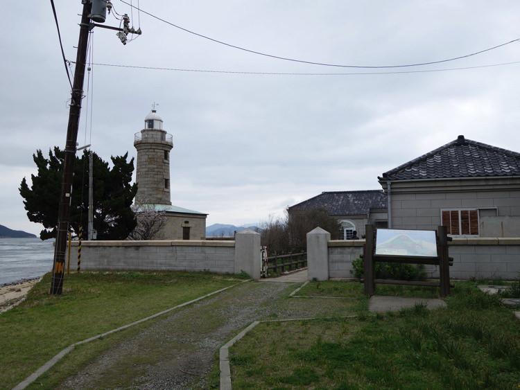 男木島灯台に到着