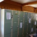白川郷の観光案内所にコインロッカーがあるので重い荷物を持っているなら使おう!