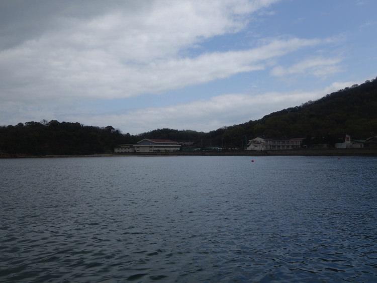 豊島行きのフェリーから見る景色