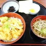 宇奈月温泉駅すぐの「レストプラザ柏や」で白えびのかきあげ丼を食べた話