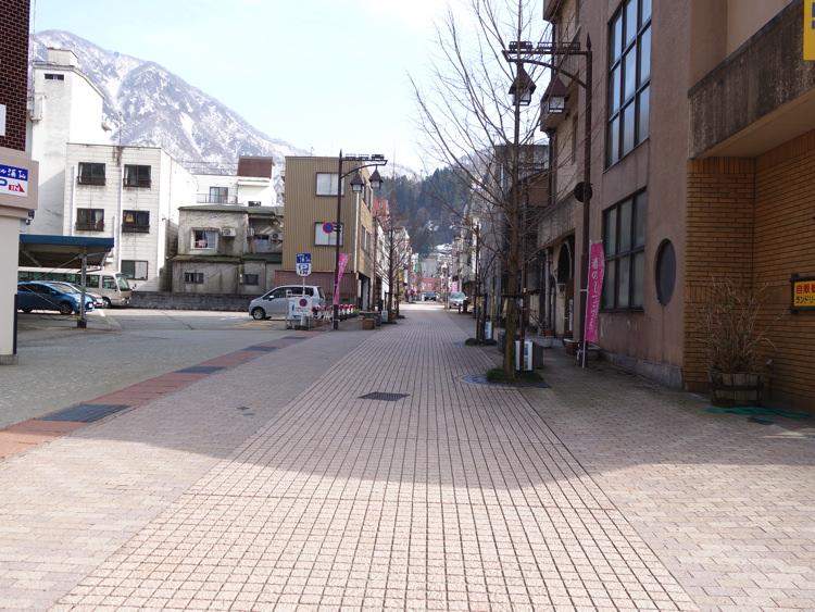 宇奈月温泉の街並み