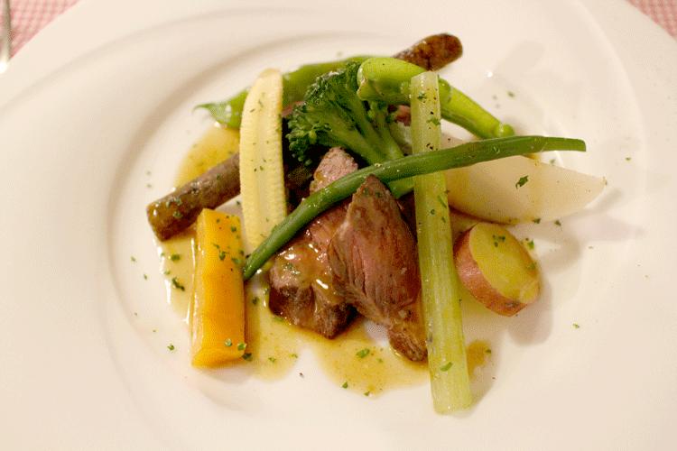 アププレ 肉料理