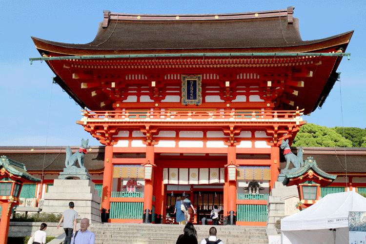 伏見稲荷神社 門