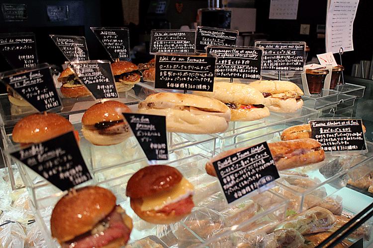 ル・プチメック サンドイッチ