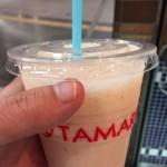 広島の紙屋町東のシャレオ地下街「TAMARU」のフルーツジュースに癒やされる