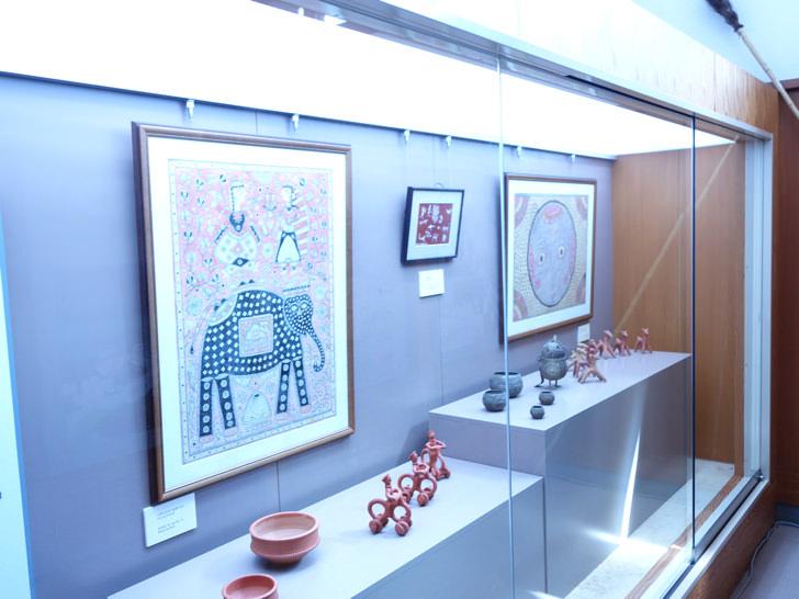 美佐島駅の展示