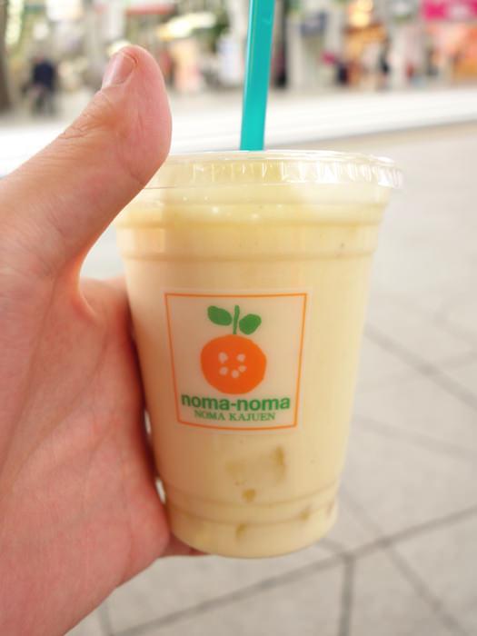 松山の大街道商店街 ミックスジュース
