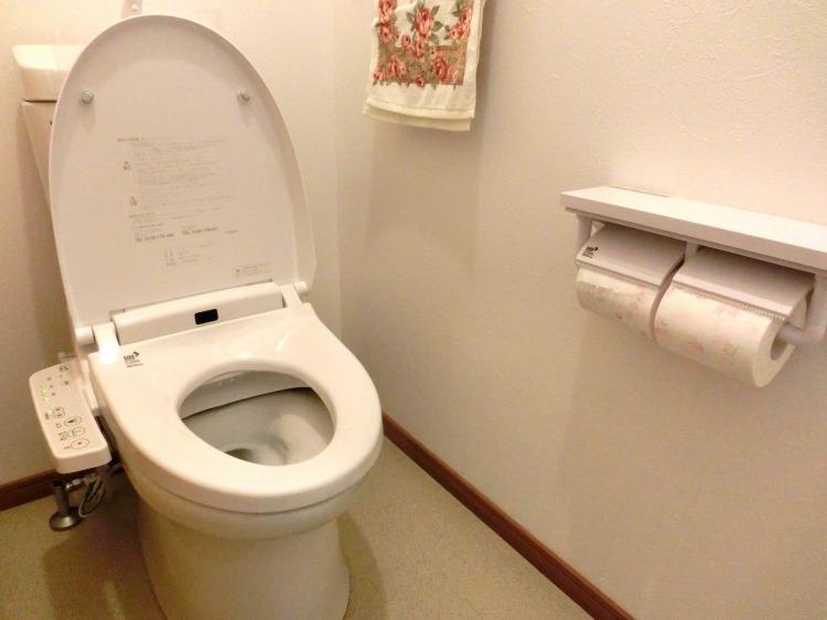 ゲストハウスふぁむすとんのトイレ