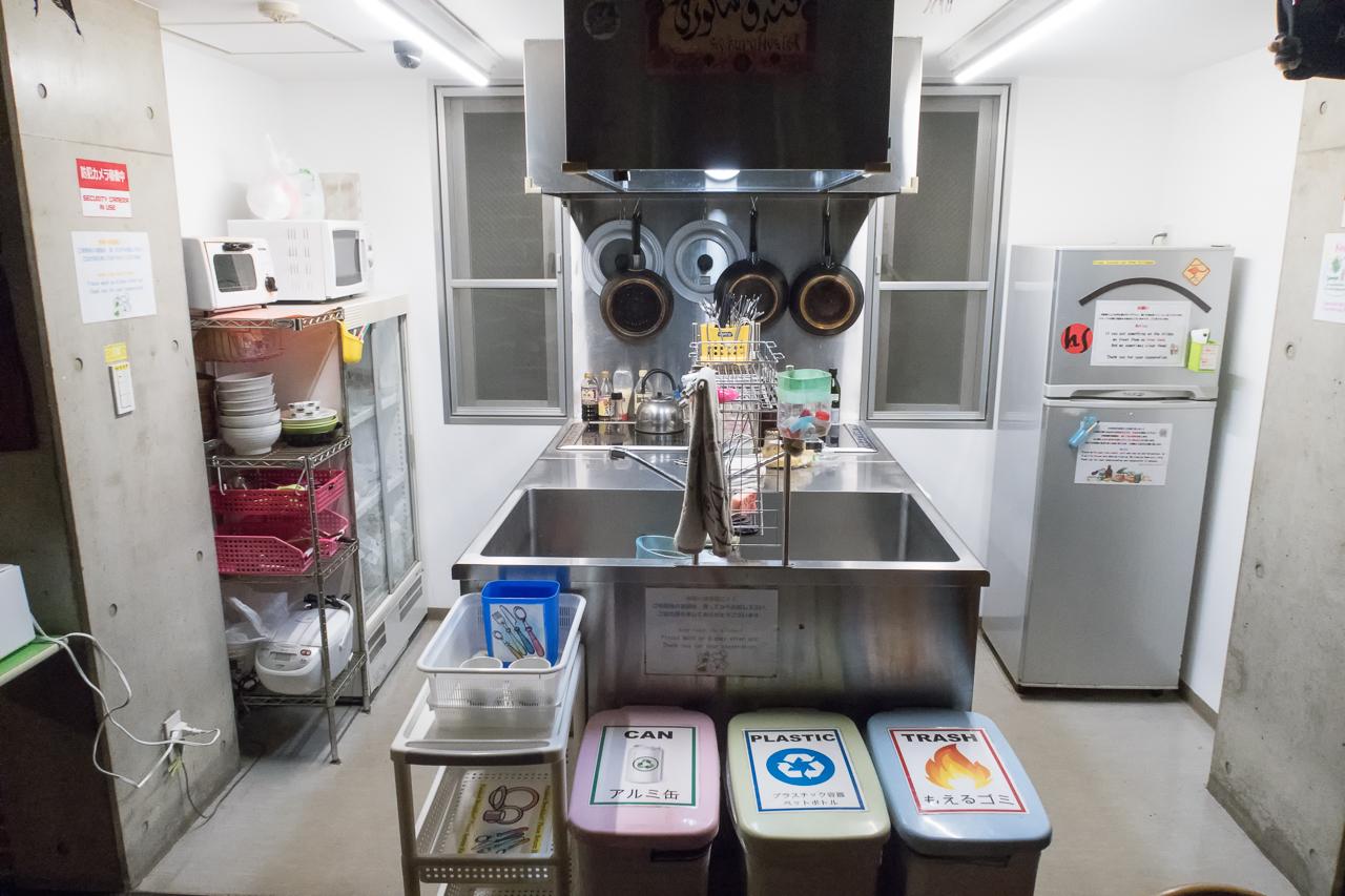 サクラホステル浅草共同キッチン