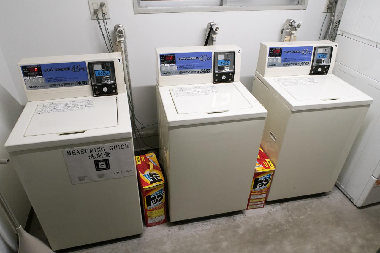 サクラホステル浅草の洗濯機