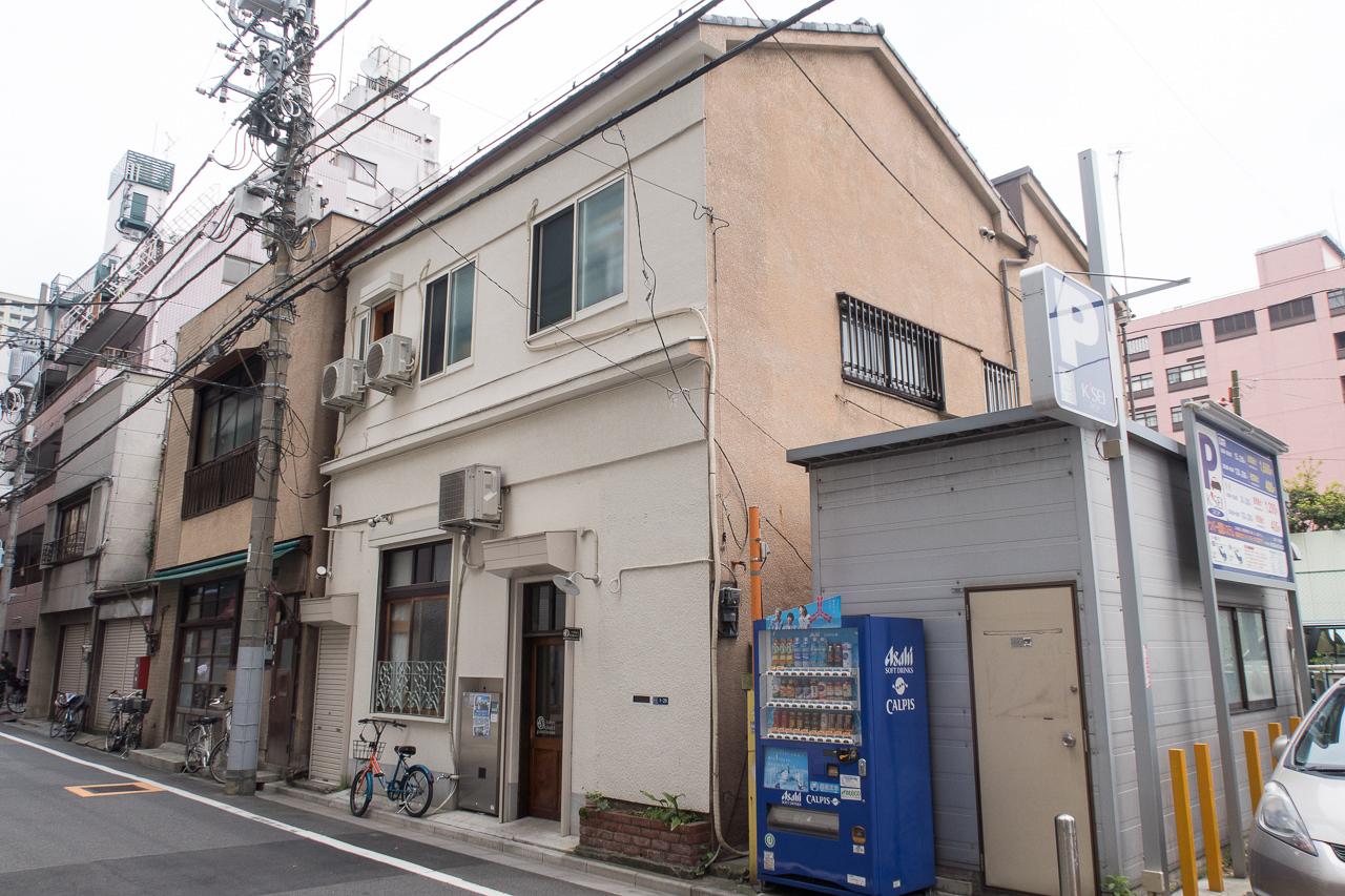 東京ひかりゲストハウスの外観