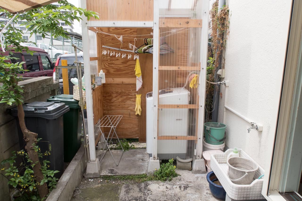東京ひかりゲストハウスの洗濯機