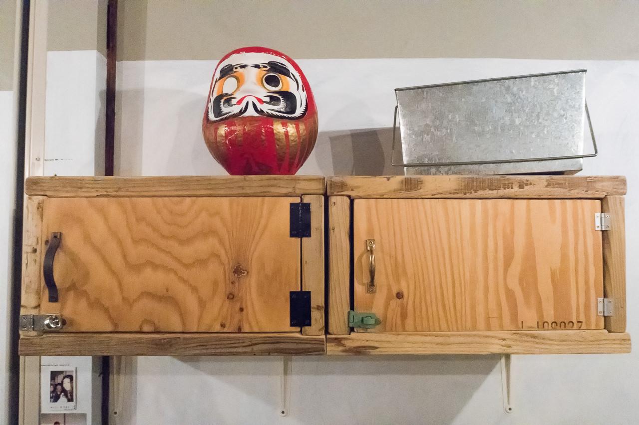 東京ひかりゲストハウスの貴重品ロッカー