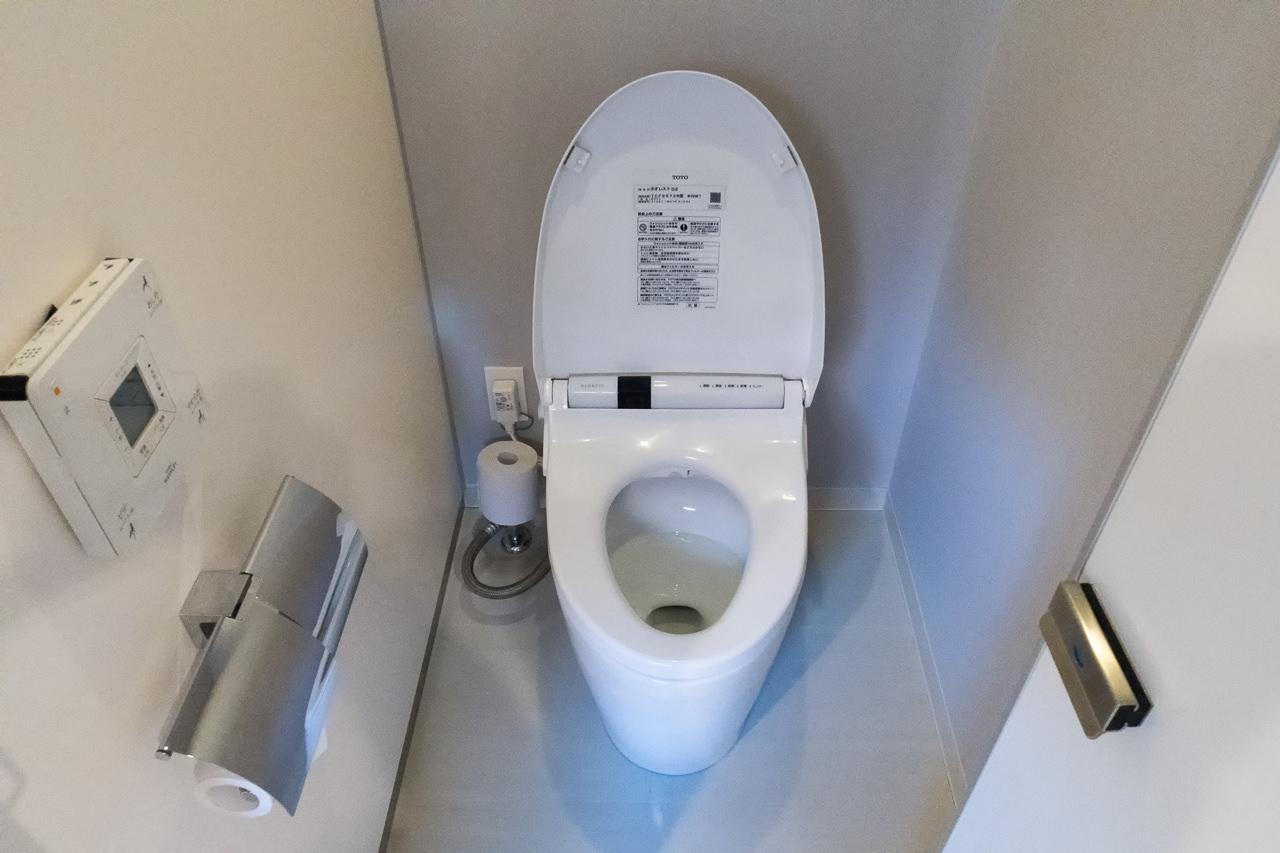 グリッズ秋葉原のトイレ