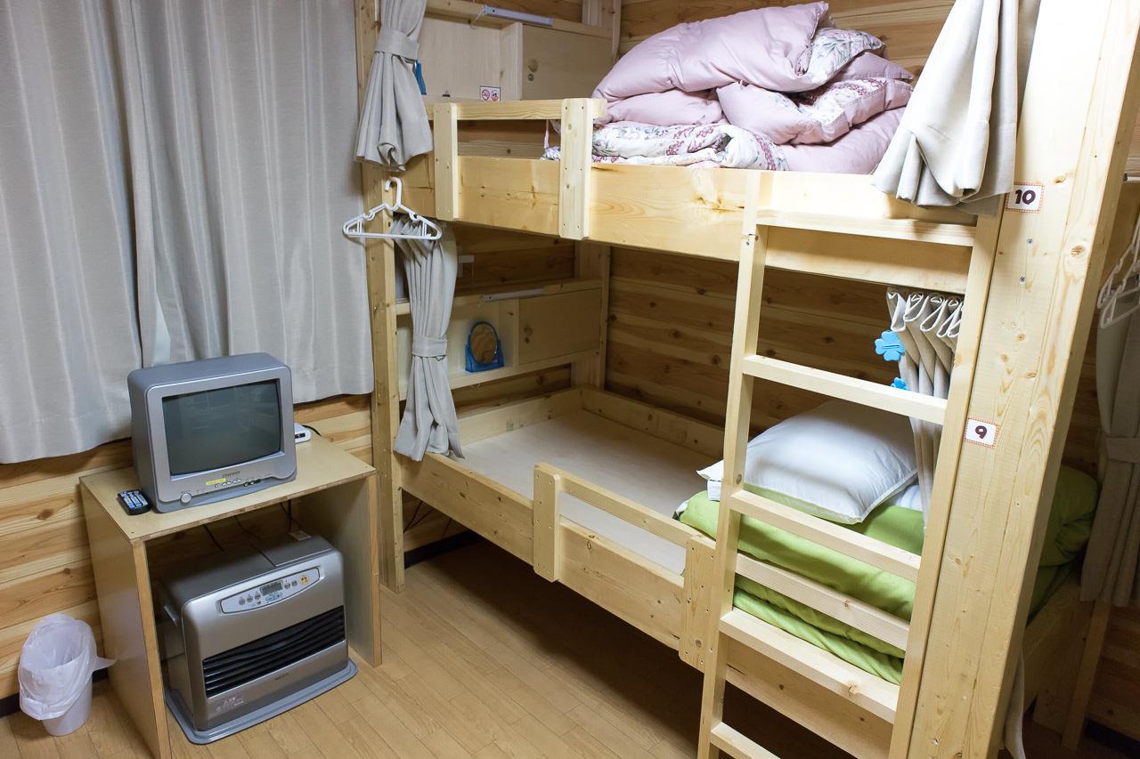 函館ゲストハウスAppleのドミトリー