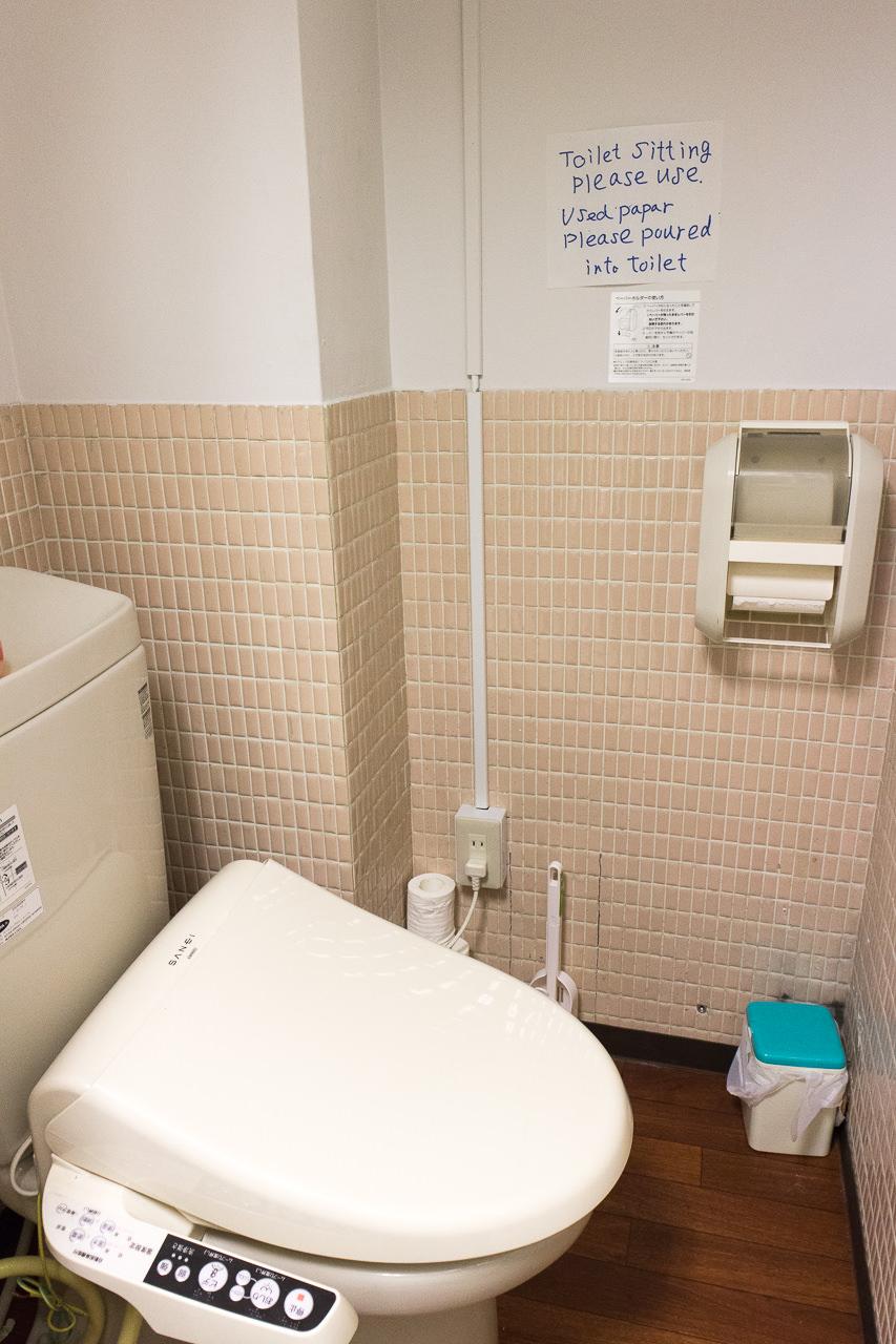 はこだてベイ室外トイレ