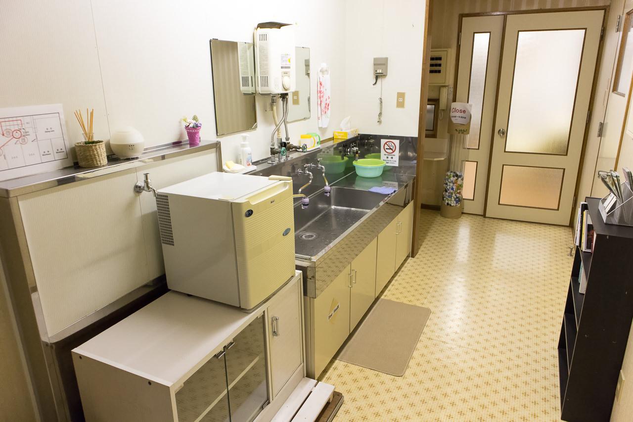 函館ペリーハウス2階の廊下