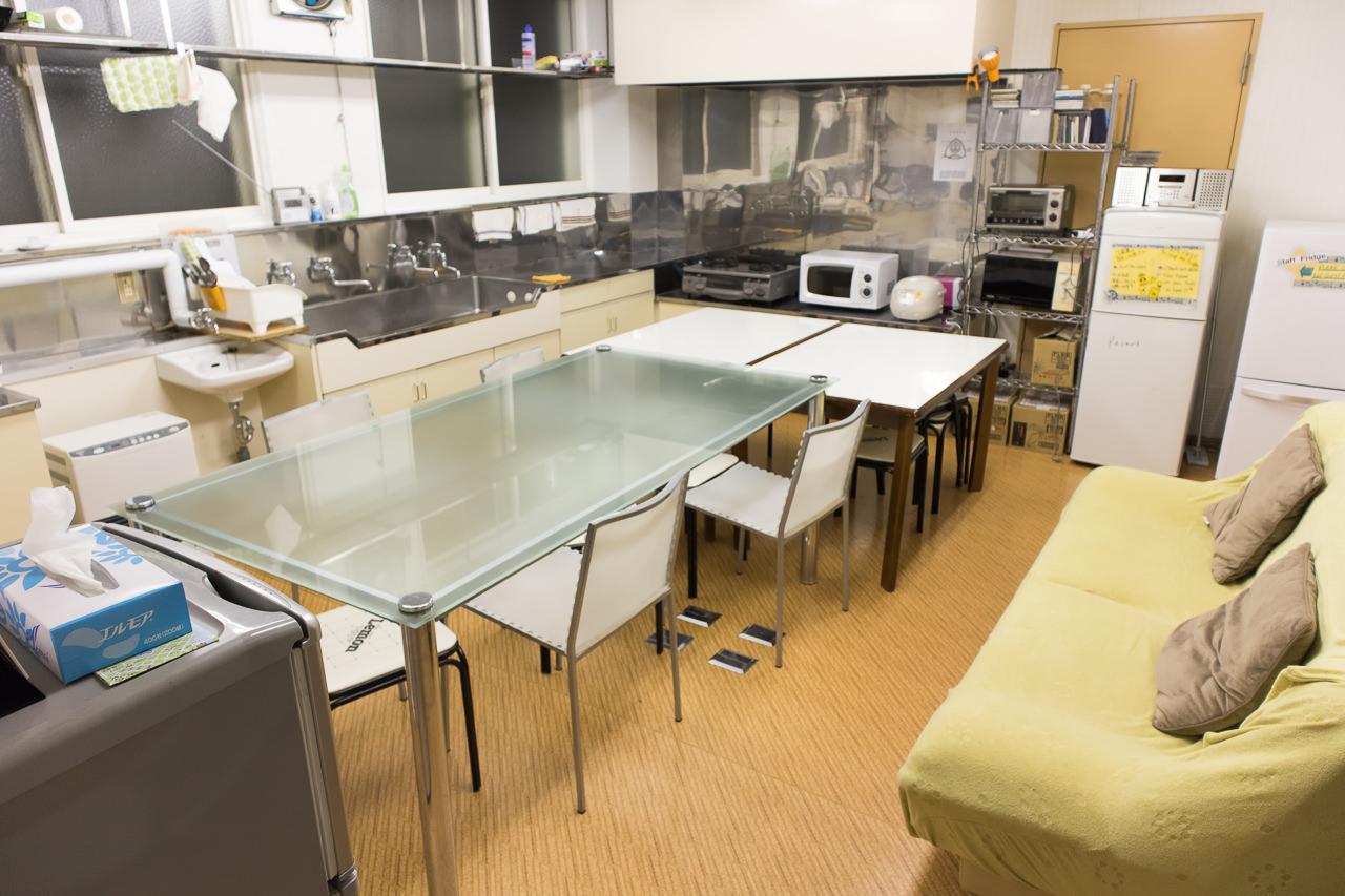 函館ペリーハウスのキッチン全景