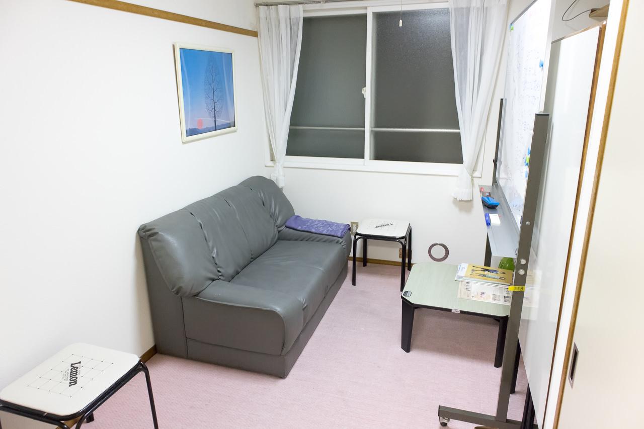 函館ペリーハウスのキッチンのフリースペース