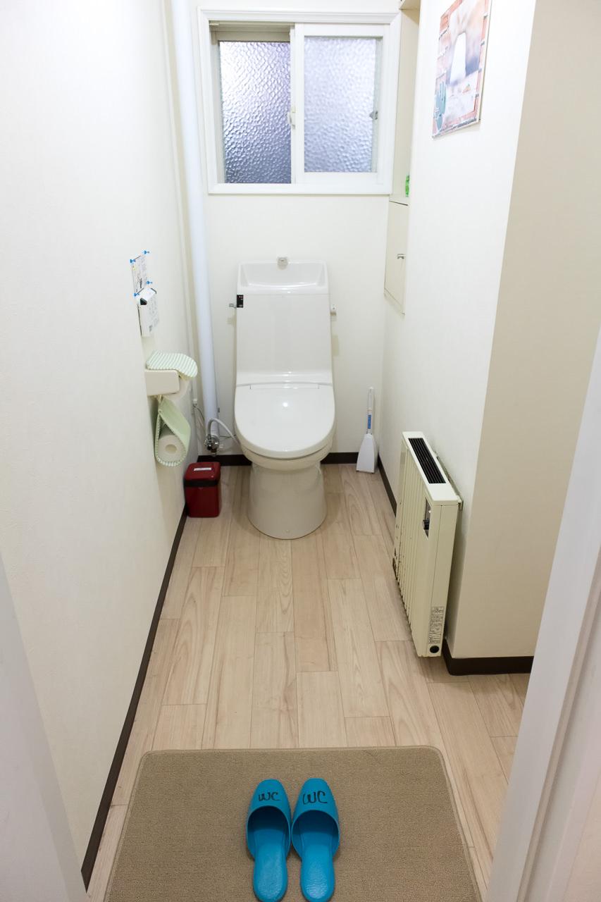 函館ペリーハウスのトイレ