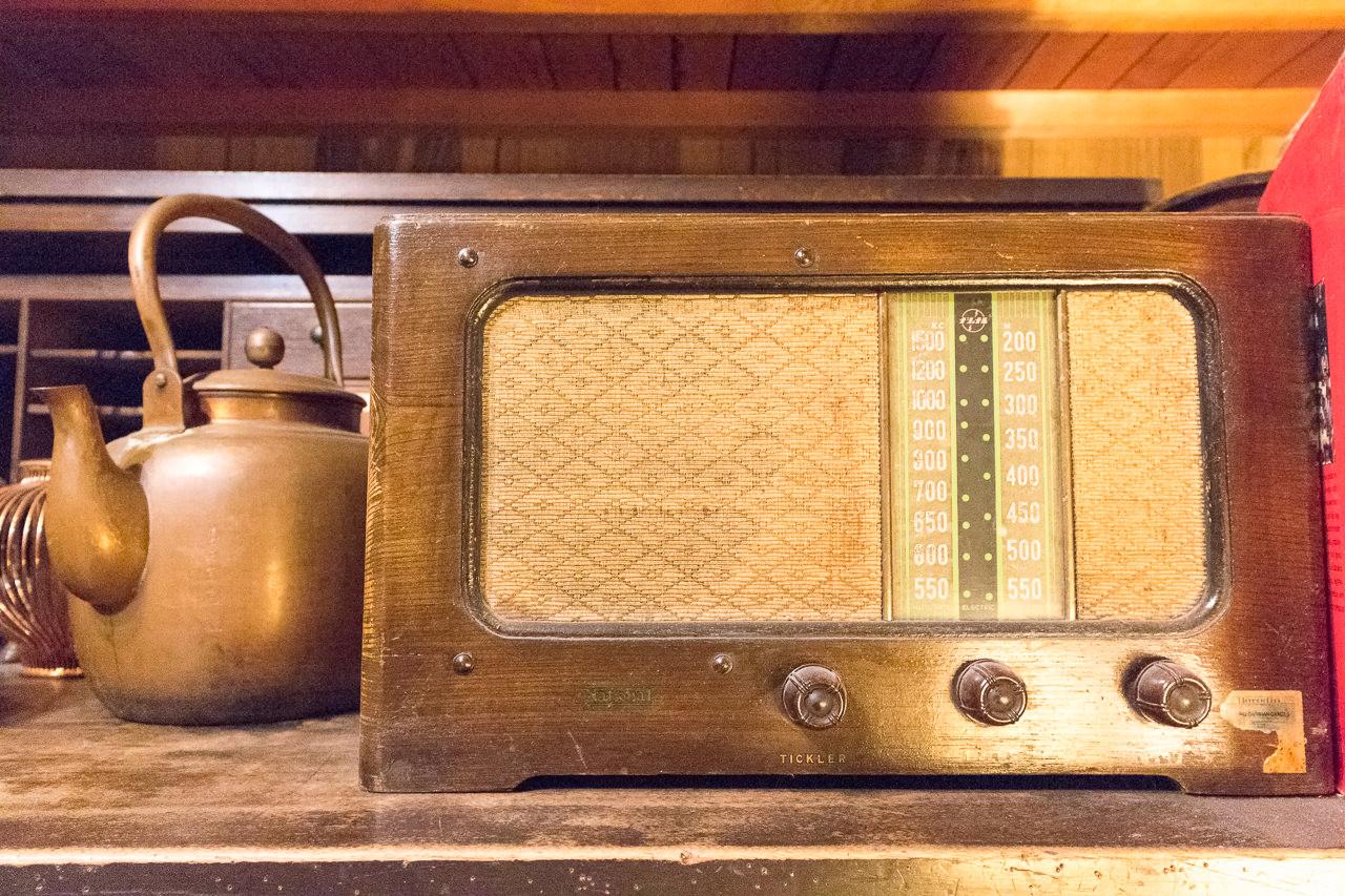 函館ゲストハウスのラジオ
