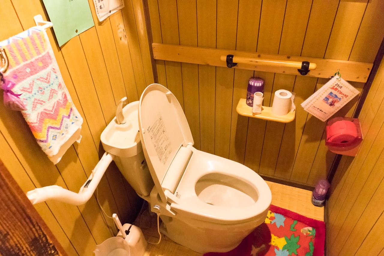 函館ゲストハウスのトイレ