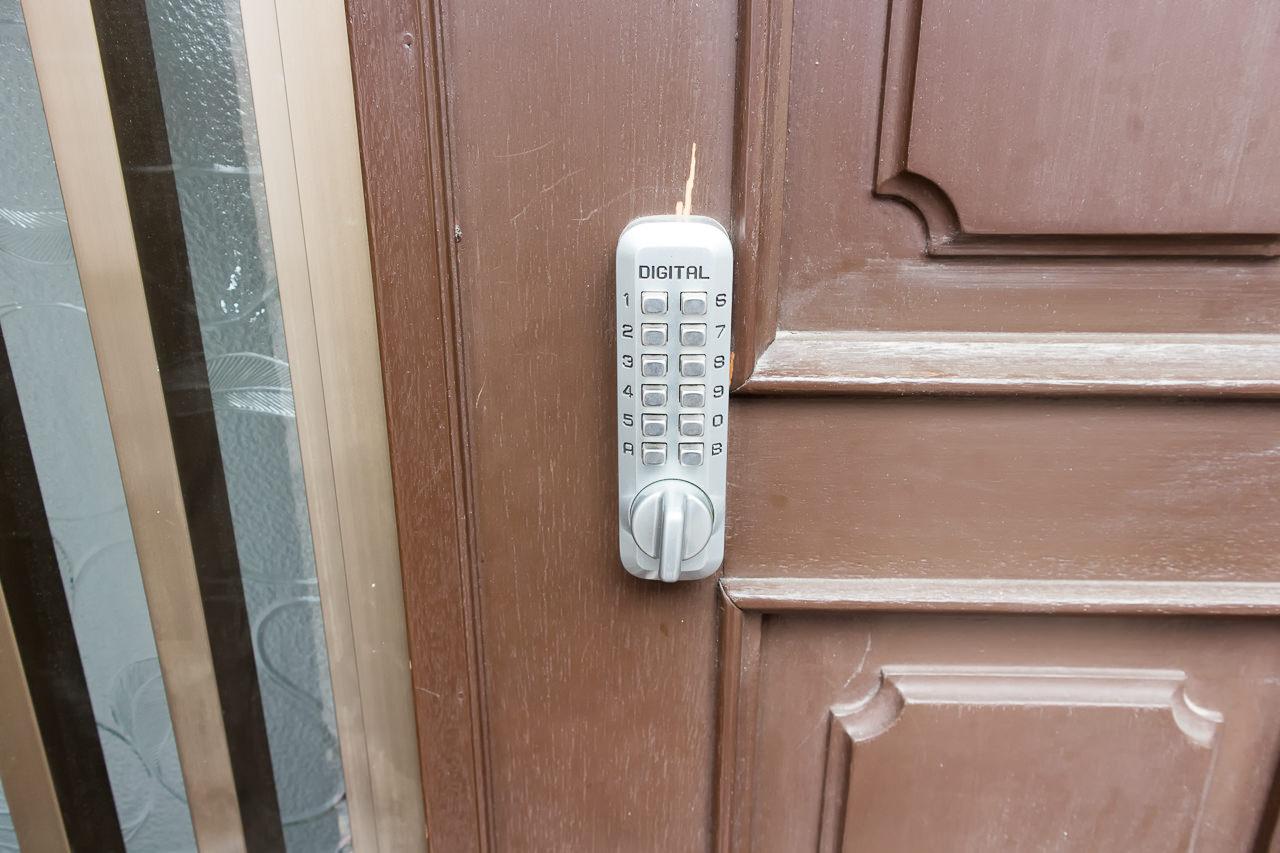 wagayado玄関のドアロック
