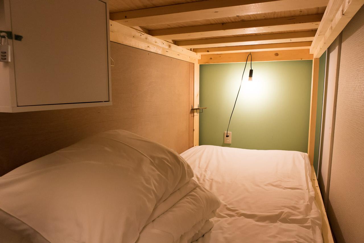wagayadoのベッド