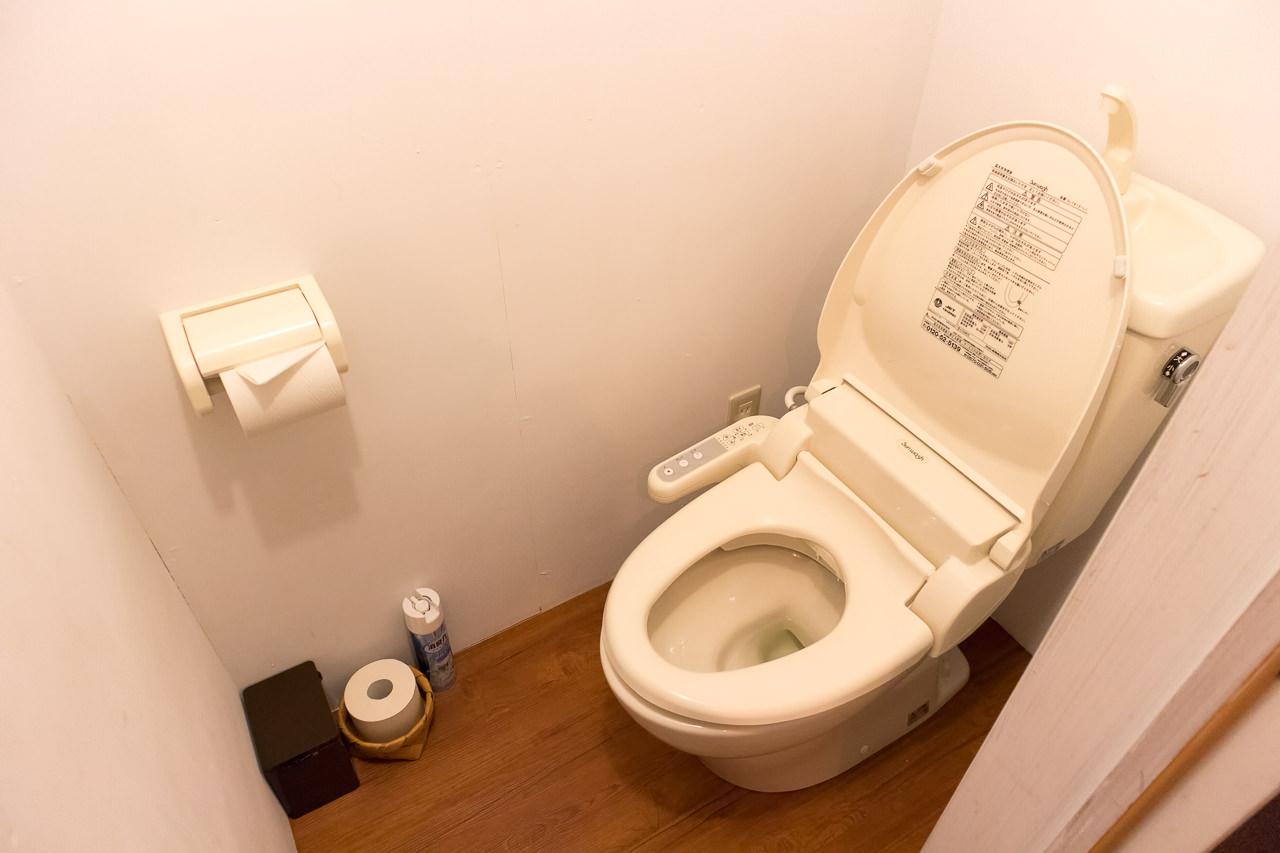 wagayado2階のトイレ