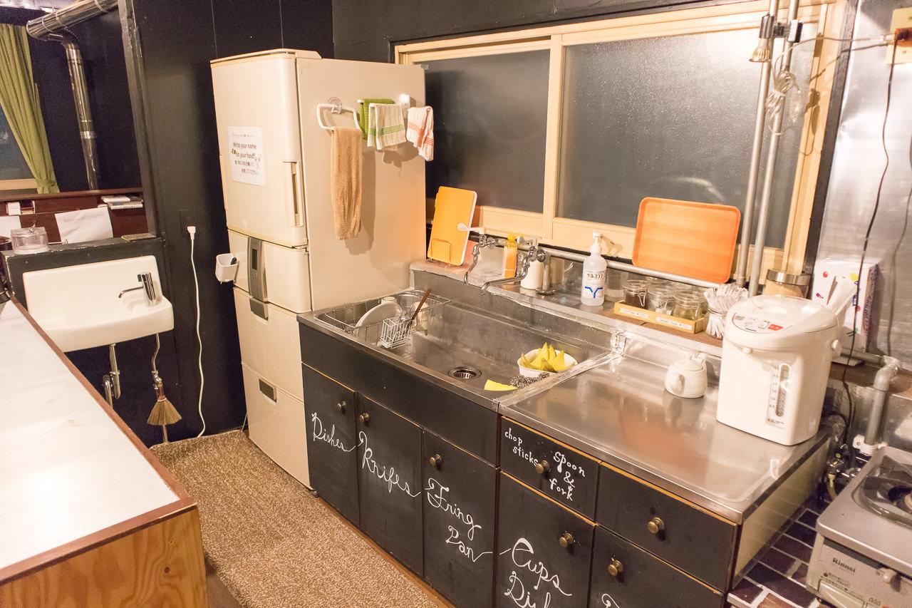 wagayado冷蔵庫と流し