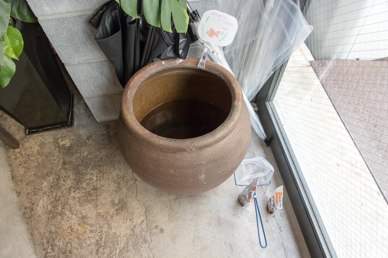 IRORIの金魚鉢