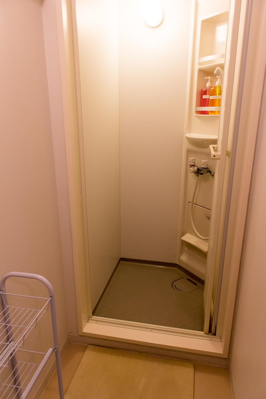 IRORIのシャワールーム