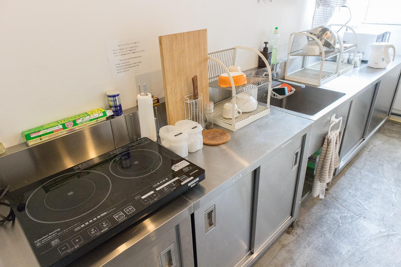 IRORIの7階キッチン