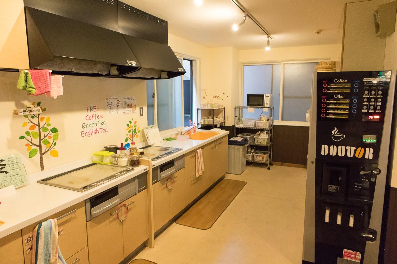 カオサン札幌のキッチン