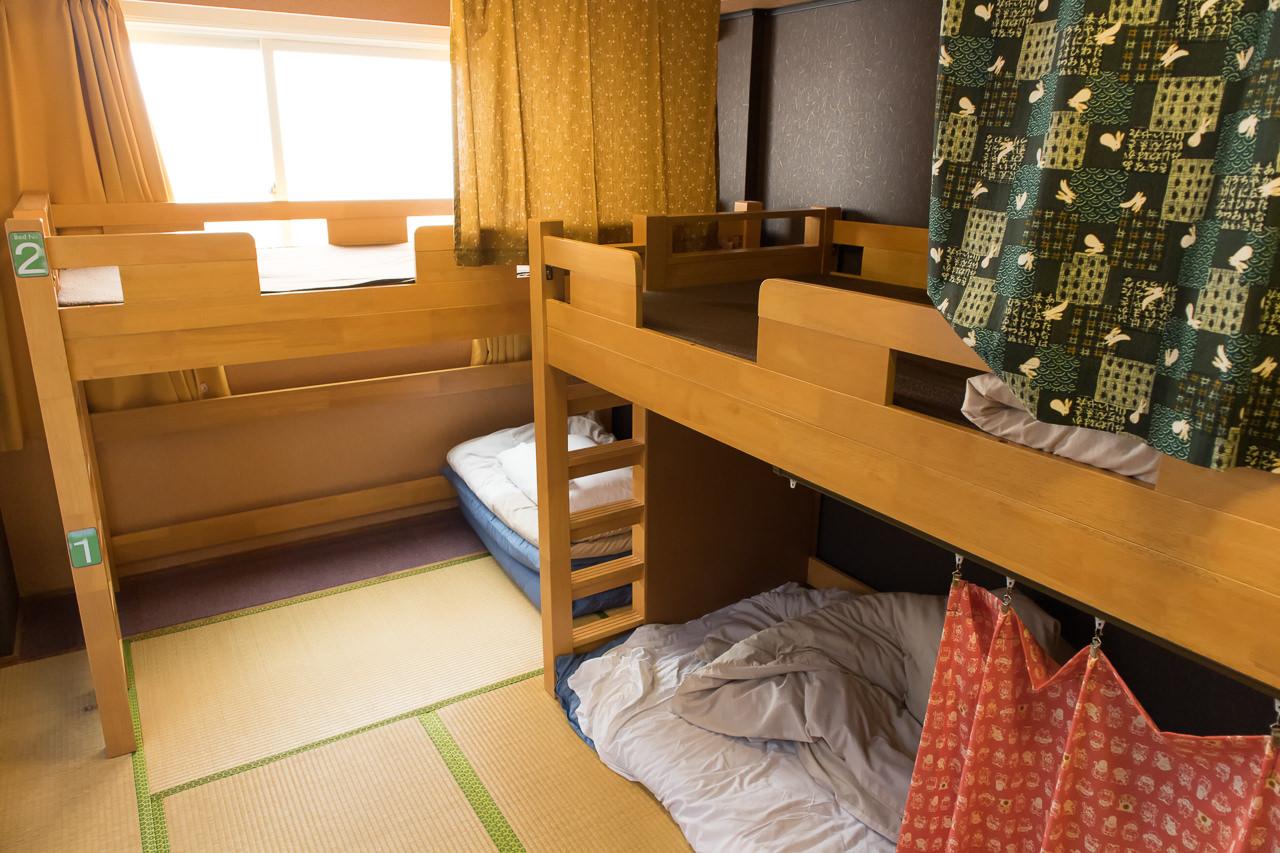 カオサン札幌の部屋の様子