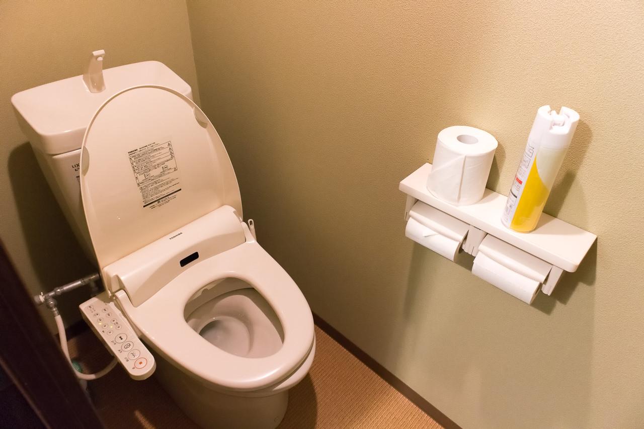 カオサン札幌のトイレ