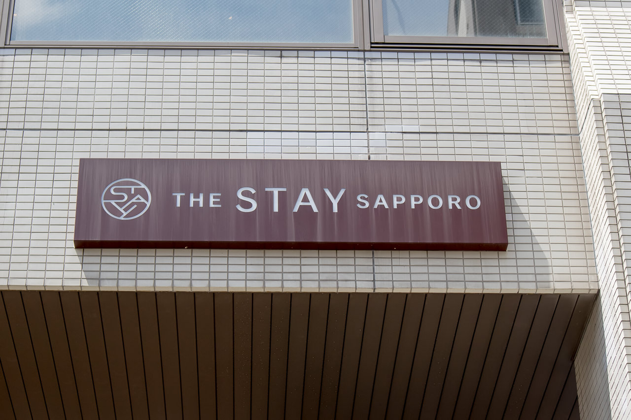The Stay Sapporoの看板