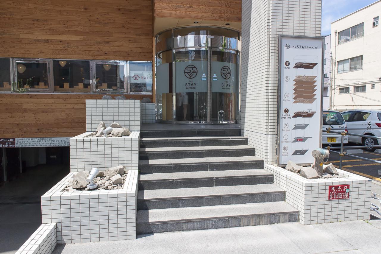 The Stay Sapporoの入口